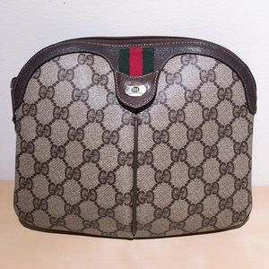 Gucci Vintage GG Supreme Sherry Line Bag